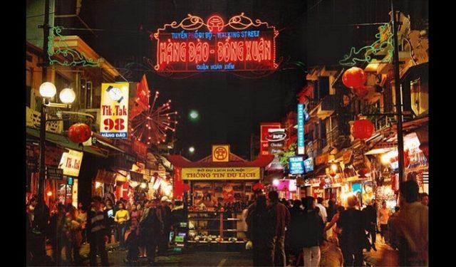 Hanoi Old Quarter Nigh Market