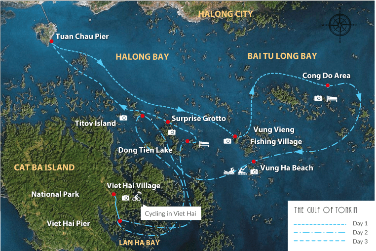 halong lanha baitulong - Top 10+ Unique & Amazing Things to do in Halong Bay, Vietnam (2020)