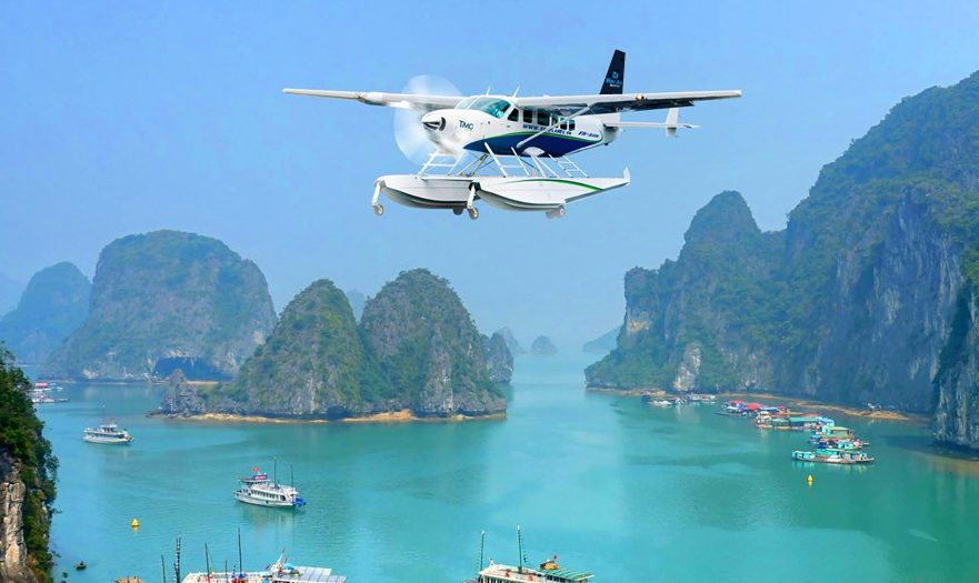 halong seaplane e1543552569900 - Top 10+ Unique & Amazing Things to do in Halong Bay, Vietnam (2020)