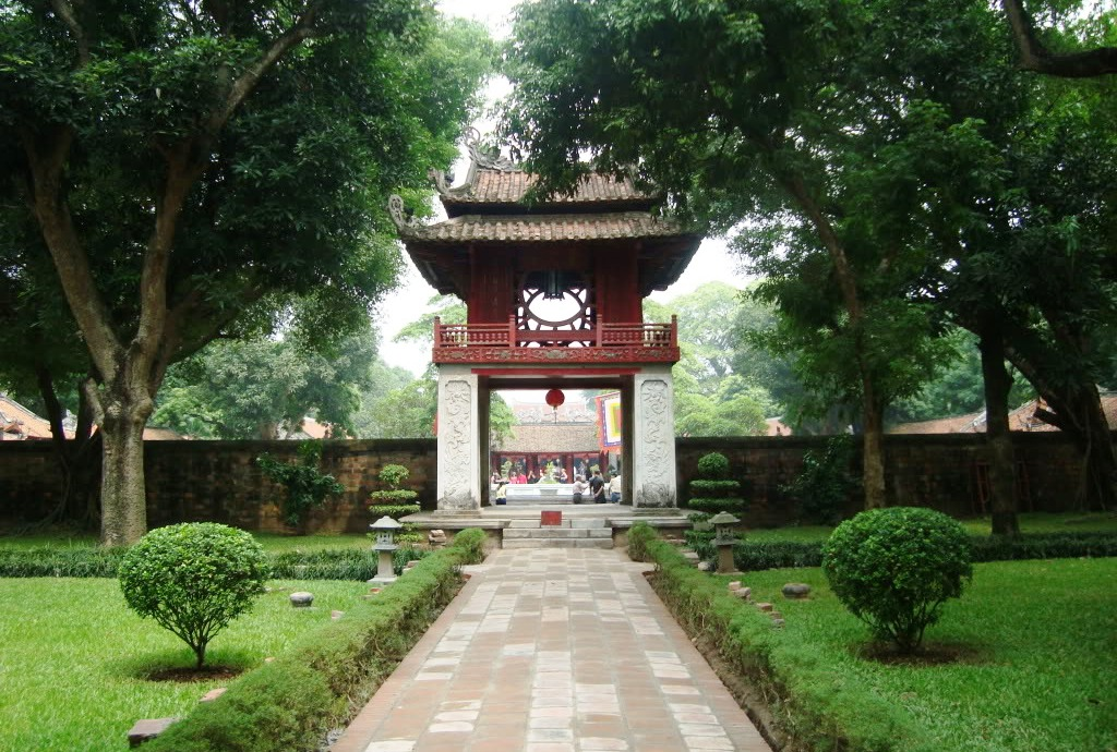 literature temple - TOP 5 Hanoi Shore Excursions