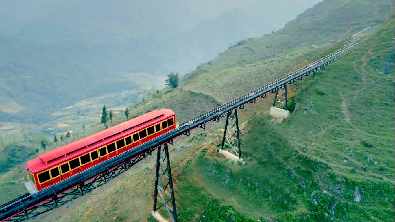 muong hoa train - Sapa vietnam