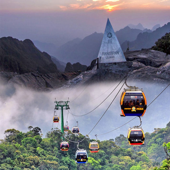 Fansipan Cable Car - sapa