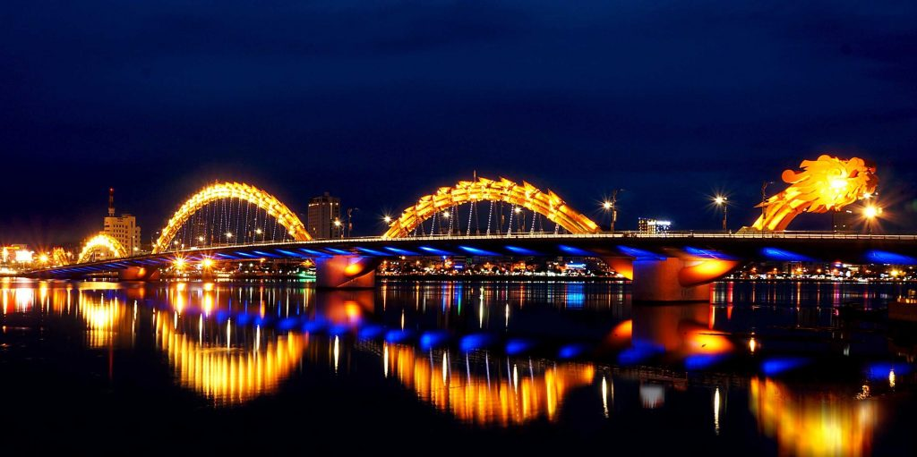 dragon bridge da nang 1024x511 - 10+ Unique & Amazing Things To Do In Da Nang, Vietnam 2021