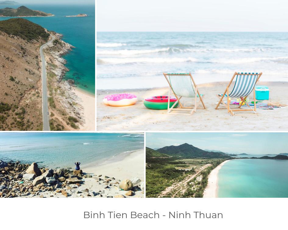 best beaches in vietnam - Binh Tien Beach