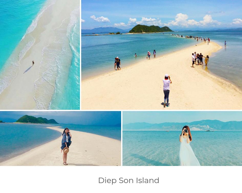 best beaches in vietnam - Diep Son Island