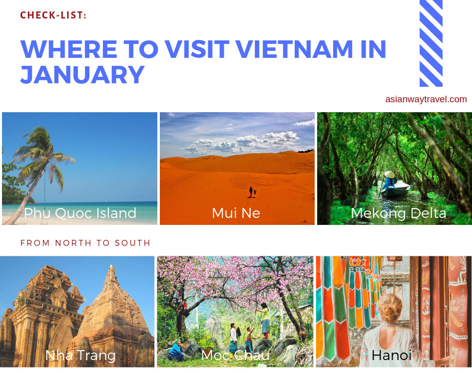 Best time to visit Vietnam - vietnam weather in January