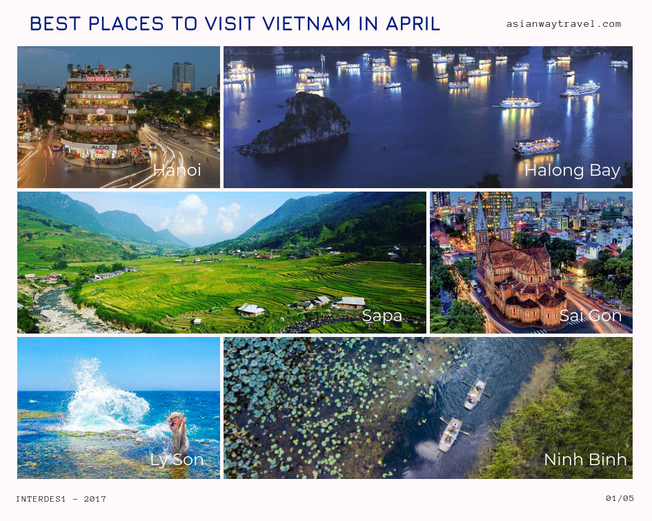 april weather in vietnam